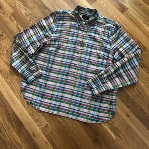 J. Crew Tissue Shirt Silk Blend Tunic